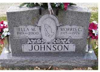 JOHNSON, ELLA M. - Scioto County, Ohio | ELLA M. JOHNSON - Ohio Gravestone Photos
