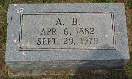 JONES, A. B. - Scioto County, Ohio | A. B. JONES - Ohio Gravestone Photos