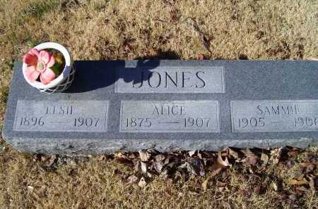 JONES, SAMMIE - Scioto County, Ohio | SAMMIE JONES - Ohio Gravestone Photos