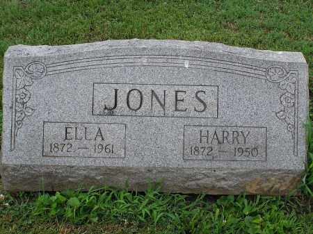 JONES, ELLA - Scioto County, Ohio | ELLA JONES - Ohio Gravestone Photos