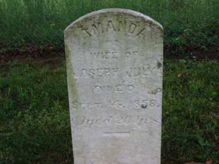JULY, AMANDA - Scioto County, Ohio | AMANDA JULY - Ohio Gravestone Photos