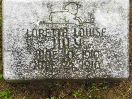 JULY, LORETTA LOUISE - Scioto County, Ohio | LORETTA LOUISE JULY - Ohio Gravestone Photos