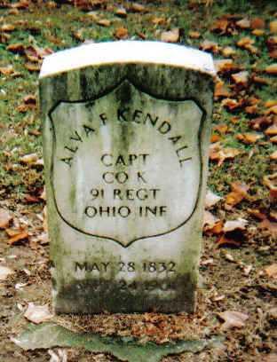 KENDALL, ALVA F. - Scioto County, Ohio | ALVA F. KENDALL - Ohio Gravestone Photos