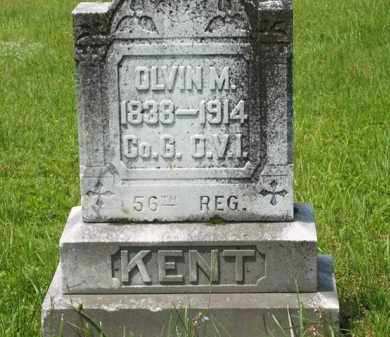 KENT, OLVIN M. - Scioto County, Ohio | OLVIN M. KENT - Ohio Gravestone Photos