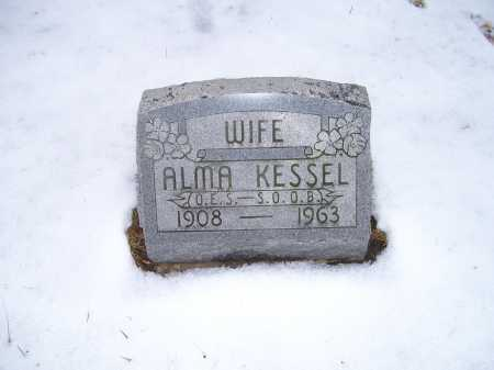 KESSEL, ALMA - Scioto County, Ohio | ALMA KESSEL - Ohio Gravestone Photos