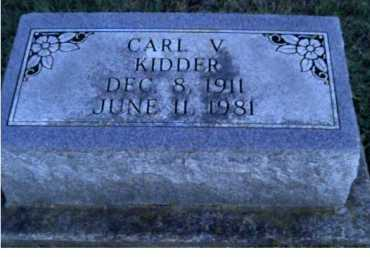 KIDDER, CARL V. - Scioto County, Ohio | CARL V. KIDDER - Ohio Gravestone Photos