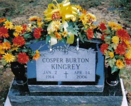 KINGREY, COSPER BURTON - Scioto County, Ohio | COSPER BURTON KINGREY - Ohio Gravestone Photos