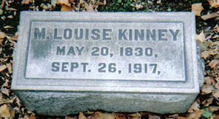 KINNEY, M. LOUISE - Scioto County, Ohio | M. LOUISE KINNEY - Ohio Gravestone Photos