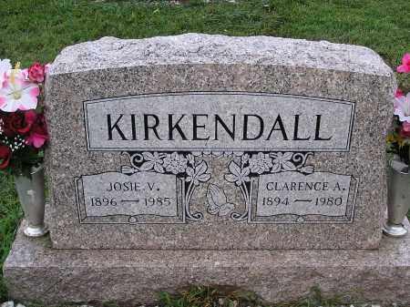 KIRKENDALL, CLARENCE - Scioto County, Ohio | CLARENCE KIRKENDALL - Ohio Gravestone Photos