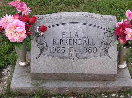 KIRKENDALL, ELLA - Scioto County, Ohio | ELLA KIRKENDALL - Ohio Gravestone Photos