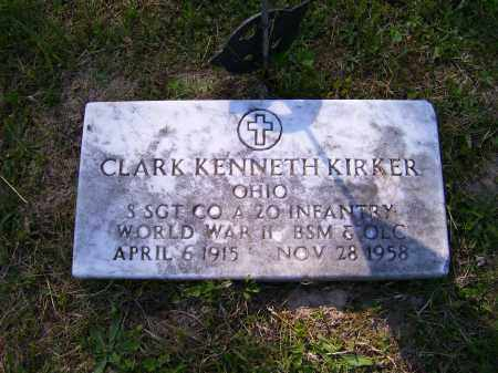 KIRKER, CLARK KENNETH - Scioto County, Ohio | CLARK KENNETH KIRKER - Ohio Gravestone Photos