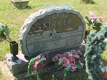 KIRKER, DONALD E. - Scioto County, Ohio | DONALD E. KIRKER - Ohio Gravestone Photos