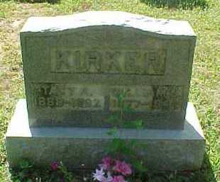 KIRKER, WILLIAM J. - Scioto County, Ohio | WILLIAM J. KIRKER - Ohio Gravestone Photos