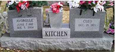 KITCHEN, AVONELLE - Scioto County, Ohio | AVONELLE KITCHEN - Ohio Gravestone Photos