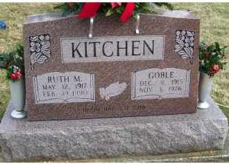 KITCHEN, GOBLE - Scioto County, Ohio | GOBLE KITCHEN - Ohio Gravestone Photos