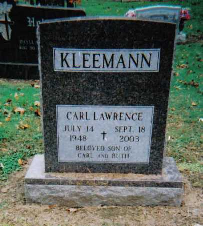 KLEEMANN, CARL LAWRENCE - Scioto County, Ohio | CARL LAWRENCE KLEEMANN - Ohio Gravestone Photos
