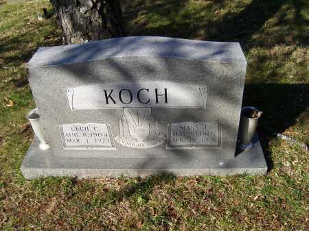 KOCH, CECIL C. - Scioto County, Ohio | CECIL C. KOCH - Ohio Gravestone Photos
