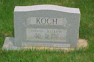 KOCH, DAVID JOSEPH - Scioto County, Ohio | DAVID JOSEPH KOCH - Ohio Gravestone Photos