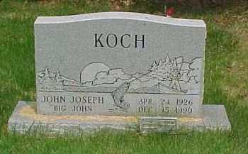 KOCH, JOHN JOSEPH - Scioto County, Ohio | JOHN JOSEPH KOCH - Ohio Gravestone Photos