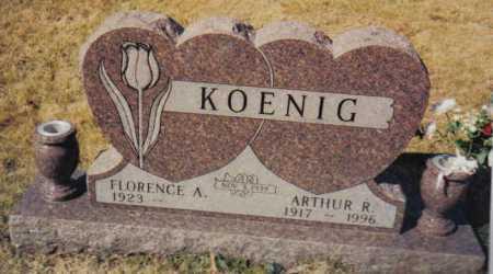 KOENIG, FLORENCE A. - Scioto County, Ohio | FLORENCE A. KOENIG - Ohio Gravestone Photos