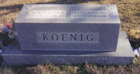 KOENIG, AGNES LOUISE - Scioto County, Ohio | AGNES LOUISE KOENIG - Ohio Gravestone Photos