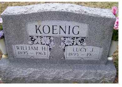 WAGGONER KOENIG, LUCY J. - Scioto County, Ohio | LUCY J. WAGGONER KOENIG - Ohio Gravestone Photos