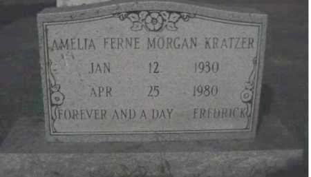 MORGAN KRATZER, AMELIA FERNE - Scioto County, Ohio | AMELIA FERNE MORGAN KRATZER - Ohio Gravestone Photos