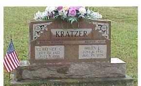 KRATZER, CLARENCE C. - Scioto County, Ohio | CLARENCE C. KRATZER - Ohio Gravestone Photos