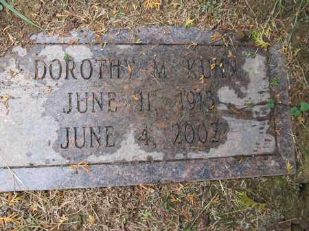 KUHN, DOROTHY MAE - Scioto County, Ohio | DOROTHY MAE KUHN - Ohio Gravestone Photos
