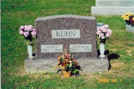 KUHN, FRANK JULIUS - Scioto County, Ohio | FRANK JULIUS KUHN - Ohio Gravestone Photos