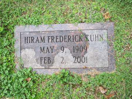 KUHN, HIRAM - Scioto County, Ohio | HIRAM KUHN - Ohio Gravestone Photos