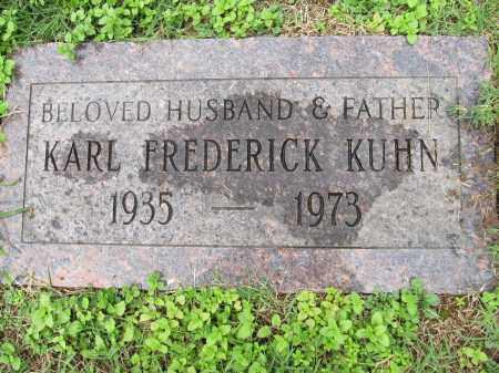 KUHN, KARL FREDRICK - Scioto County, Ohio | KARL FREDRICK KUHN - Ohio Gravestone Photos