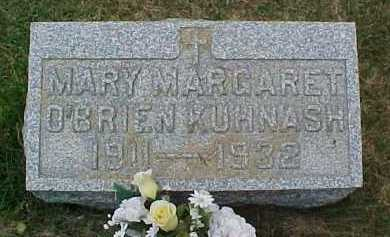 O'BRIEN KUHNASH, MARY MARGARET - Scioto County, Ohio | MARY MARGARET O'BRIEN KUHNASH - Ohio Gravestone Photos