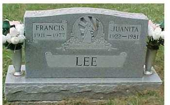 LEE, FRANCIS - Scioto County, Ohio | FRANCIS LEE - Ohio Gravestone Photos