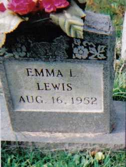 LEWIS, EMMA L. - Scioto County, Ohio | EMMA L. LEWIS - Ohio Gravestone Photos