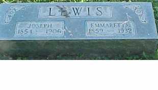 LEWIS, EMMARETTA - Scioto County, Ohio | EMMARETTA LEWIS - Ohio Gravestone Photos