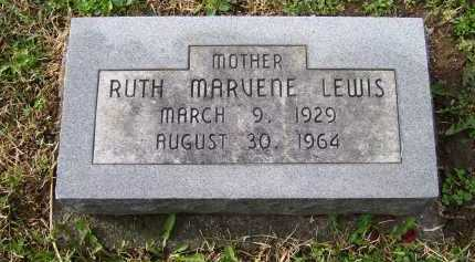 LEWIS, RUTH MARVENE - Scioto County, Ohio | RUTH MARVENE LEWIS - Ohio Gravestone Photos