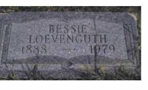 LOEVENGUTH, BESSIE - Scioto County, Ohio | BESSIE LOEVENGUTH - Ohio Gravestone Photos