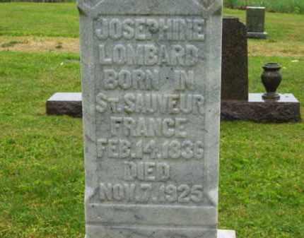 LOMBARD, JOSEPHINE - Scioto County, Ohio | JOSEPHINE LOMBARD - Ohio Gravestone Photos