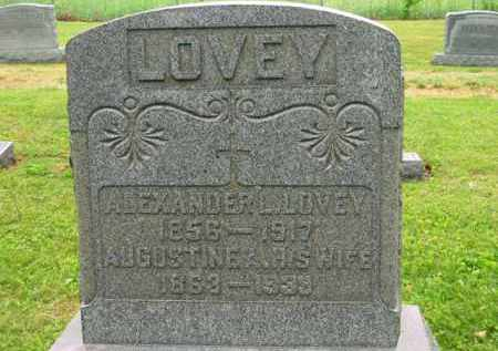 LOVEY, ALEXANDER L. - Scioto County, Ohio | ALEXANDER L. LOVEY - Ohio Gravestone Photos