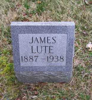 LUTE, JAMES - Scioto County, Ohio   JAMES LUTE - Ohio Gravestone Photos