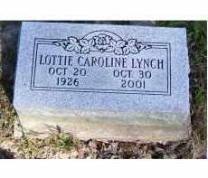 LYNCH, LOTTIE CAROLINE - Scioto County, Ohio | LOTTIE CAROLINE LYNCH - Ohio Gravestone Photos