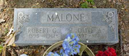MALONE, ROBERT G. - Scioto County, Ohio | ROBERT G. MALONE - Ohio Gravestone Photos