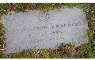 MANNING, DEWEY KENNETH - Scioto County, Ohio | DEWEY KENNETH MANNING - Ohio Gravestone Photos