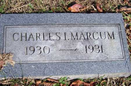 MARCUM, CHARLES I. - Scioto County, Ohio | CHARLES I. MARCUM - Ohio Gravestone Photos