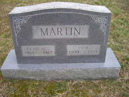 MARTIN, OCIE - Scioto County, Ohio | OCIE MARTIN - Ohio Gravestone Photos
