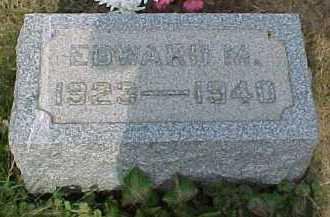 MARTIN, EDWARD M. - Scioto County, Ohio | EDWARD M. MARTIN - Ohio Gravestone Photos
