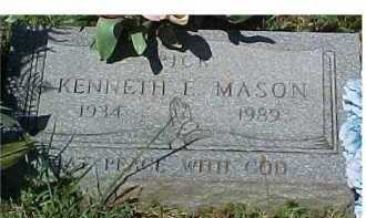 MASON, KENNETH E. - Scioto County, Ohio | KENNETH E. MASON - Ohio Gravestone Photos