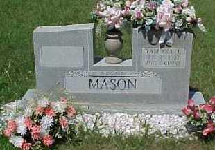 MASON, RAMONA J. - Scioto County, Ohio | RAMONA J. MASON - Ohio Gravestone Photos