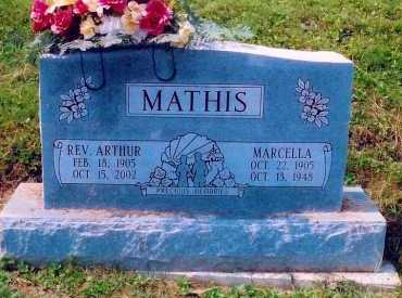 MATHIS, ARTHUR - Scioto County, Ohio | ARTHUR MATHIS - Ohio Gravestone Photos